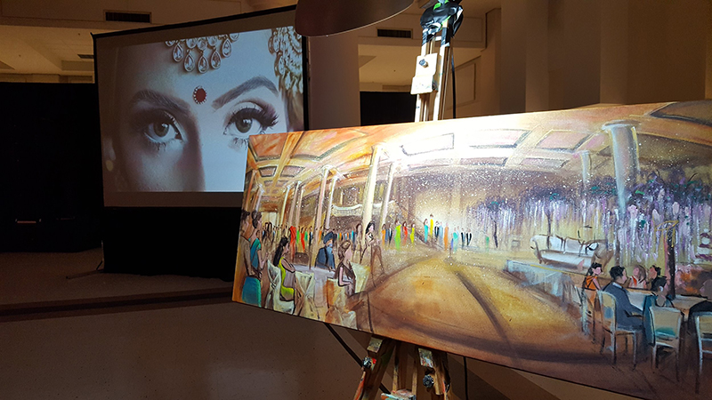 Seattle+Live+Art,+Wedding+Painting+by+Impressions+Live+Art
