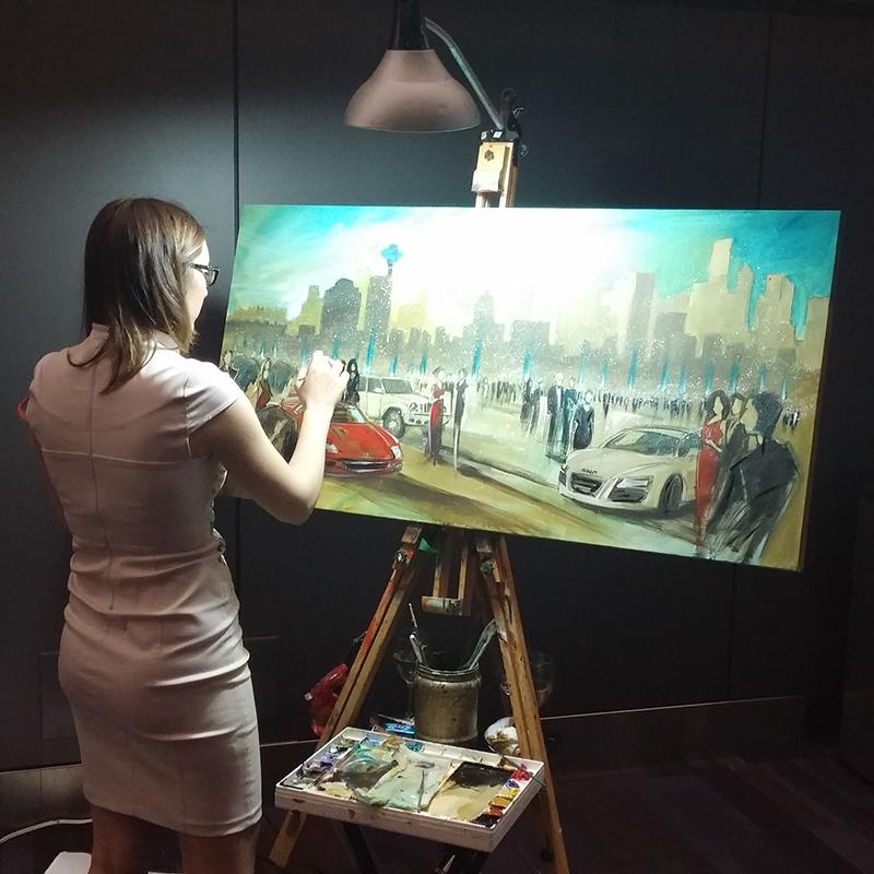 impressions live art event entertainment, auto show gala 2016