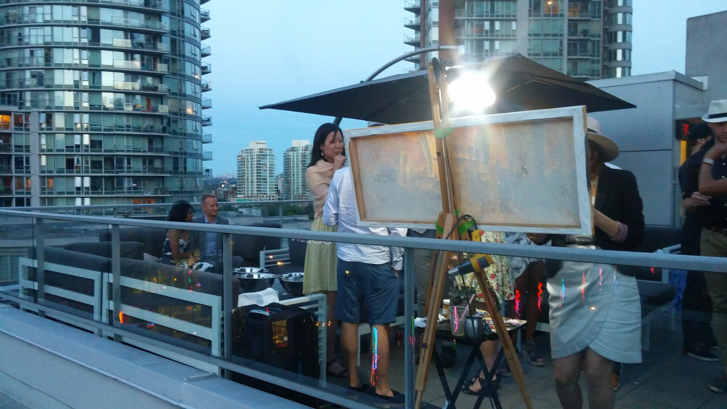 whiskywisemanlivepainting