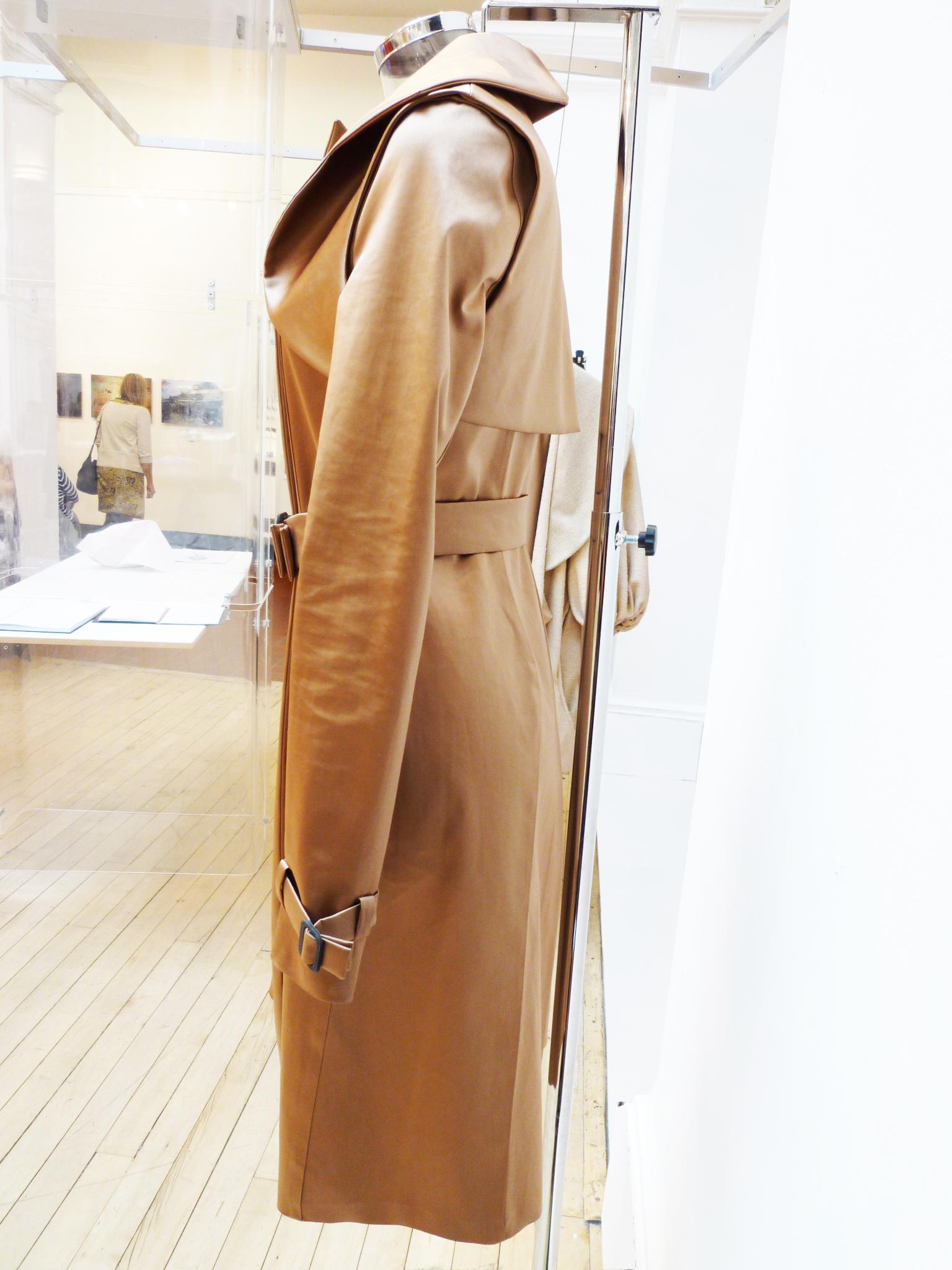 Isabel Wong x Mackintosh Bronze Satin Coat Side.jpg