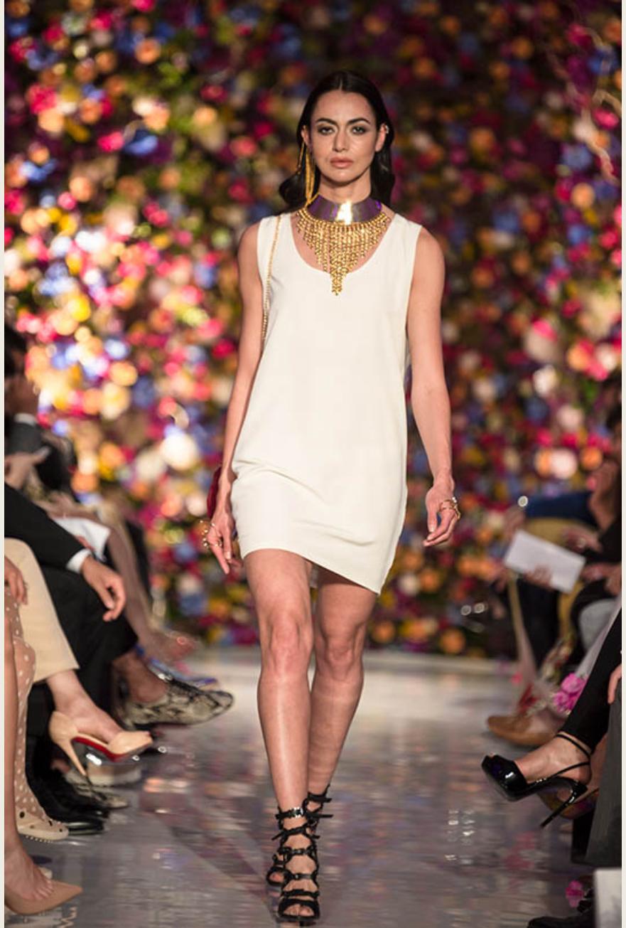 Saatchi Gallery Rema Jewellery Isabel Wong white shift Dress.jpg
