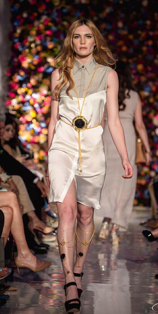Saatchi Gallery Rema Jewellery Isabel Wong Shirt Dress.jpg