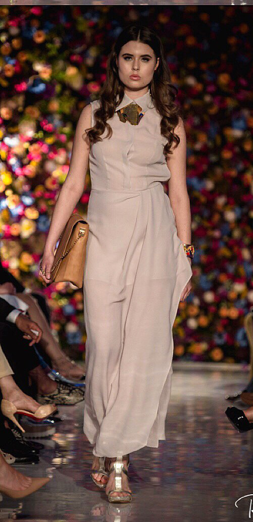 Saatchi Gallery Rema Jewellery Isabel Wong shirt maxi Dress.jpg