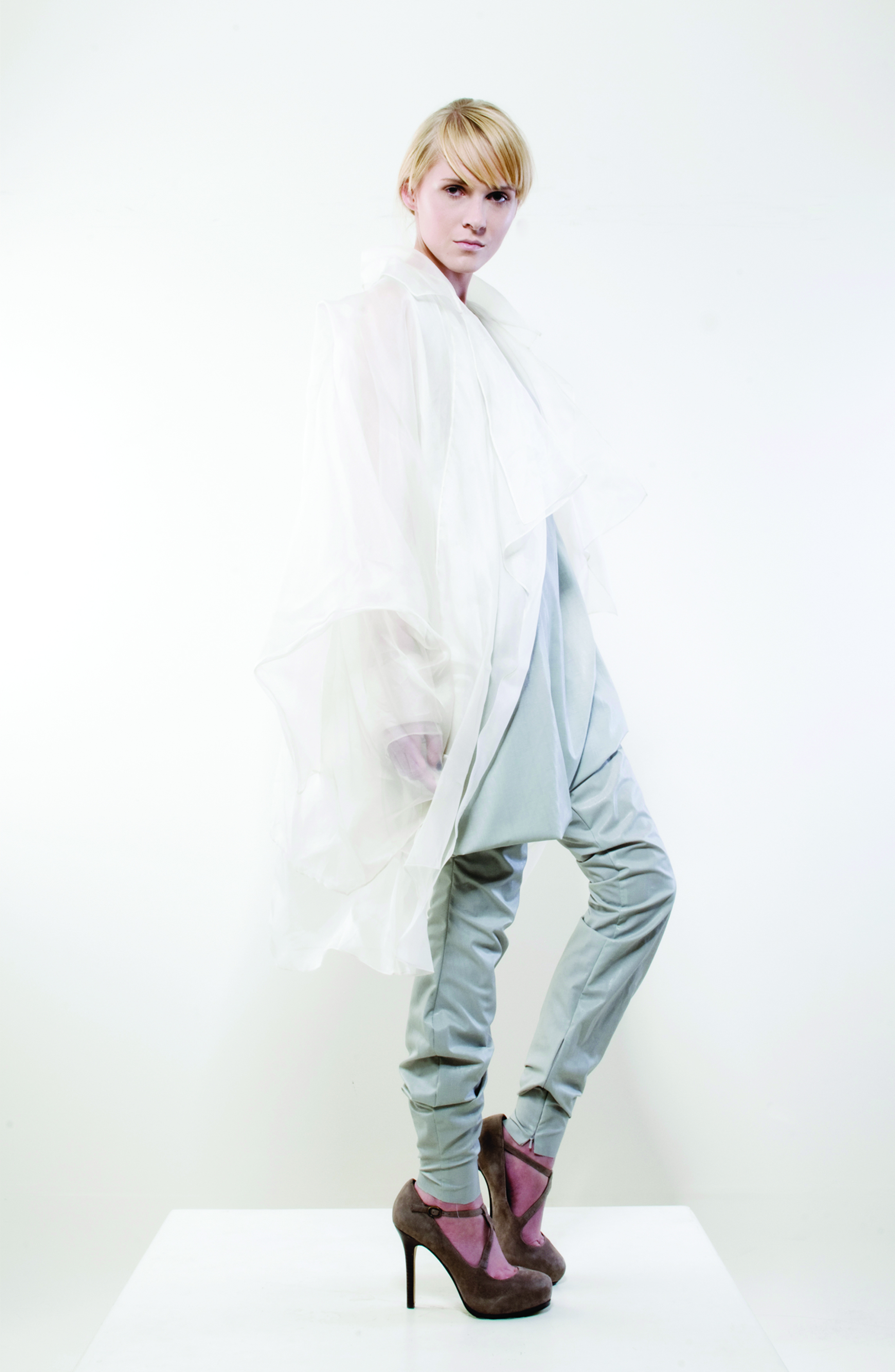 outfit-4-Gravity-and-Levitation-Spring-Summer-Collection-Isabel-Wong-White-silk-organza-Sheer-Jacket-Rubber-Jumpsuit.jpg