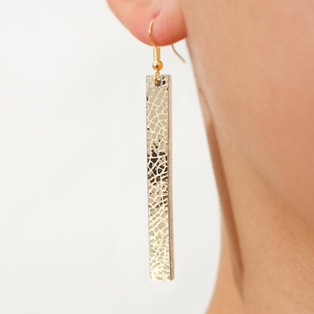 Gold Rectangle Leather Drop Earrings.jpg