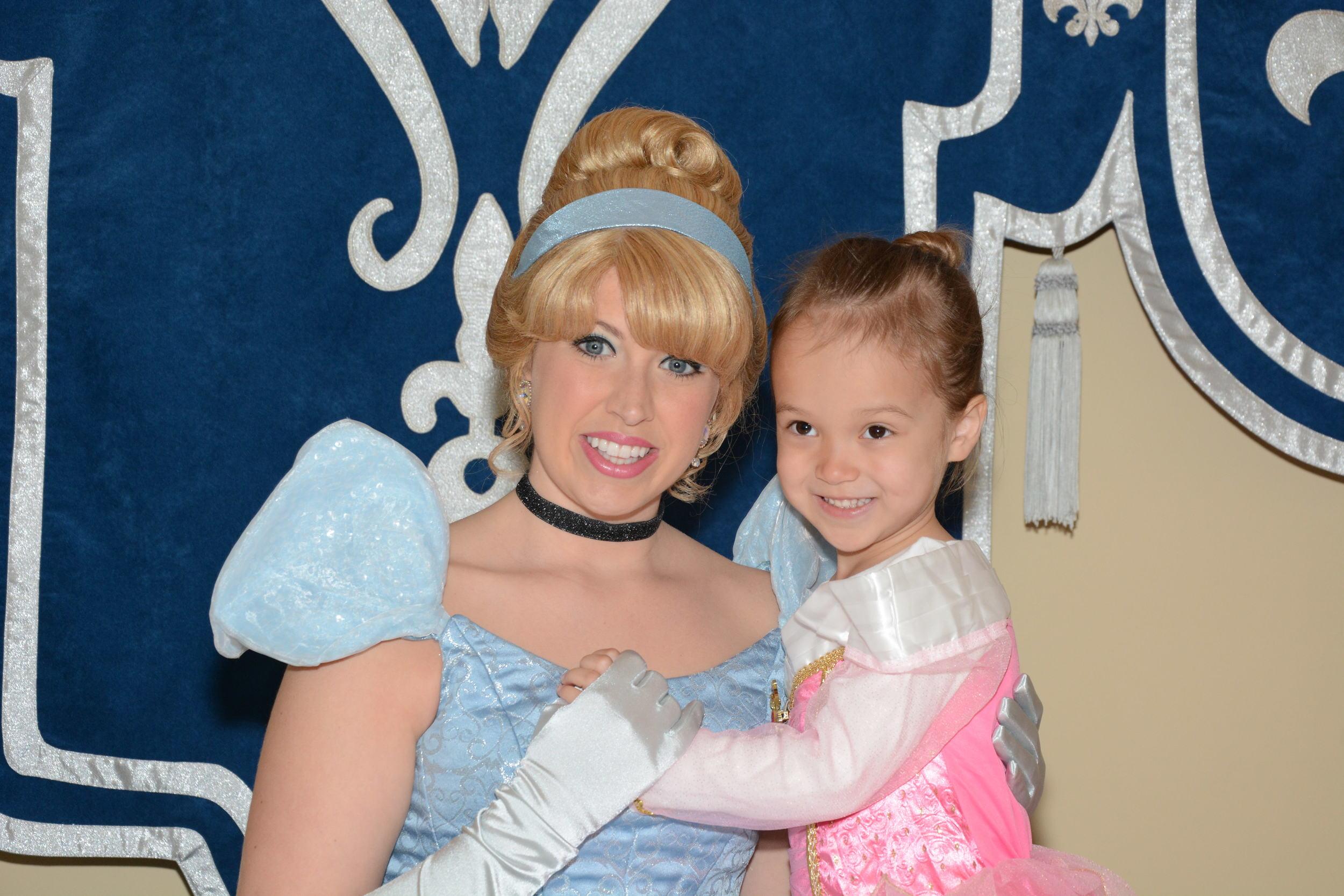 Two beautiful princesses!