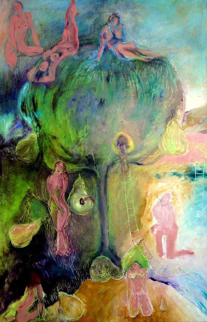"Summer Dream, Oil on Canvas, 24""x36"""