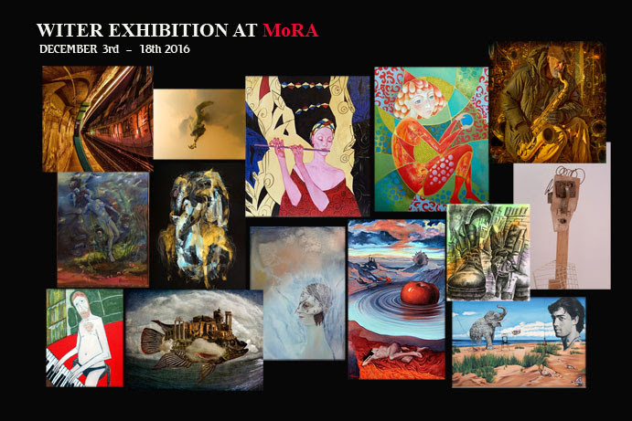 Open Reception on Saturday, December 3rd, from 1 pm to 5 pm    The Museum of Russian Art,   80 Grand St,   Jersey City, NJ   07302-4522