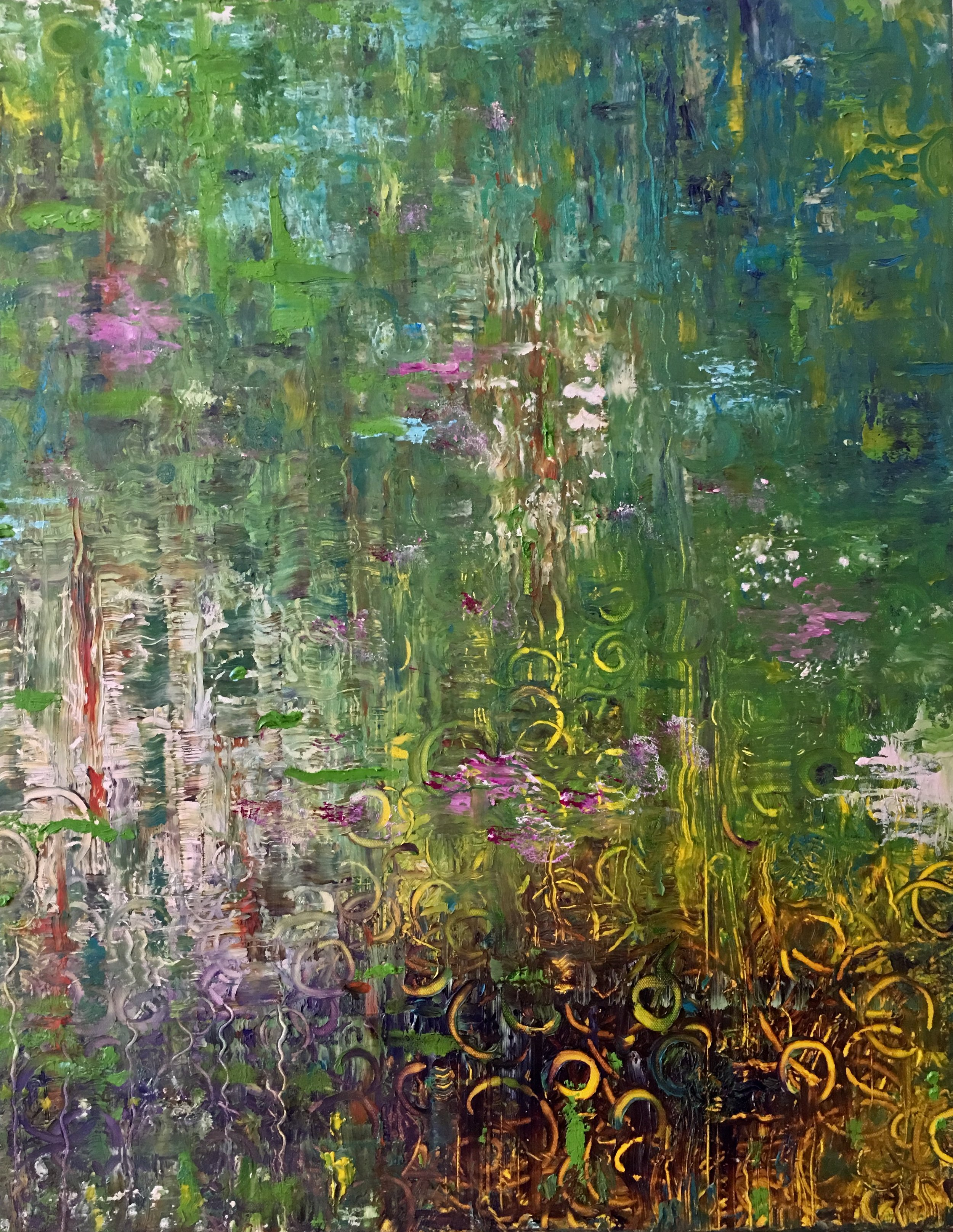 """Prelude for Spring, Oil on Canvas, 30""""x24"""""""
