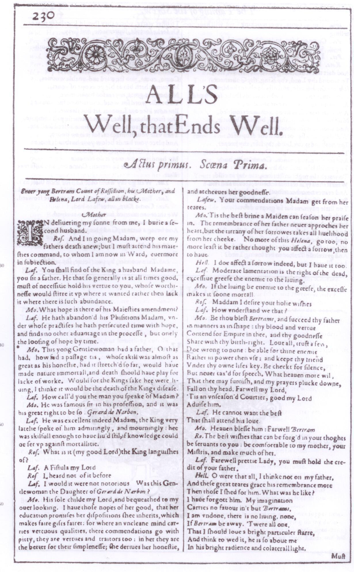 Shakespeare Unbard Episode 27 Spoiler Alert Alls Well