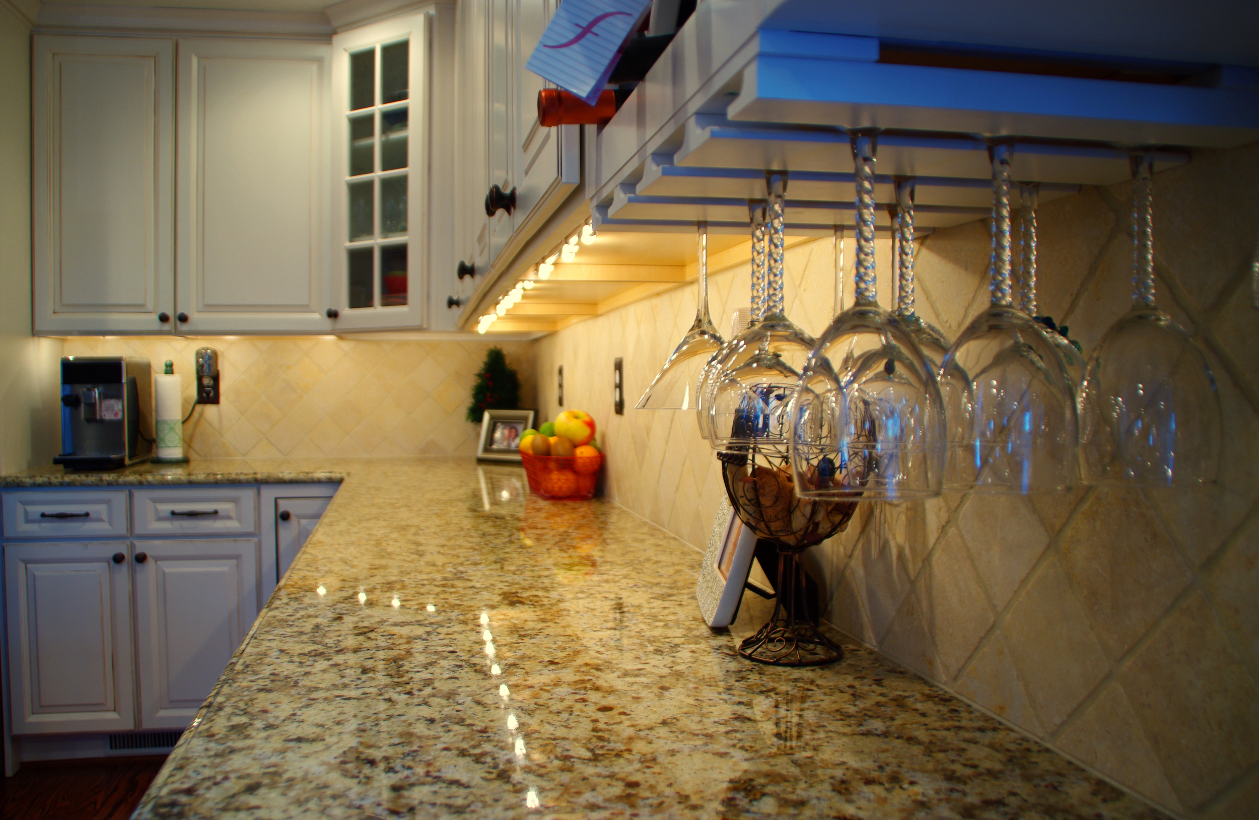 The customer went to our granite manufacturer and chose their exact piece of granite to be used in the kitchen.