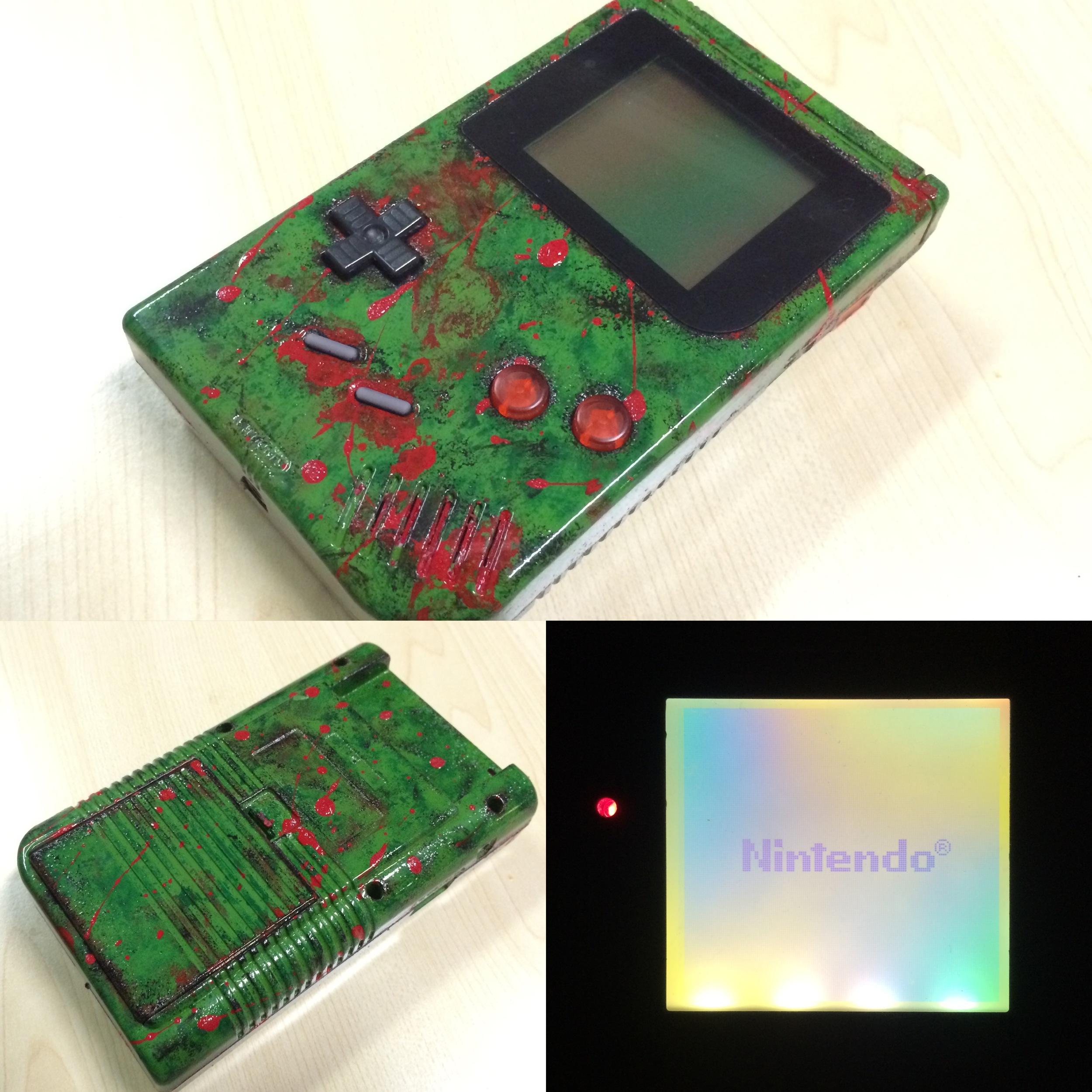 Custom Painted Gameboy DMG
