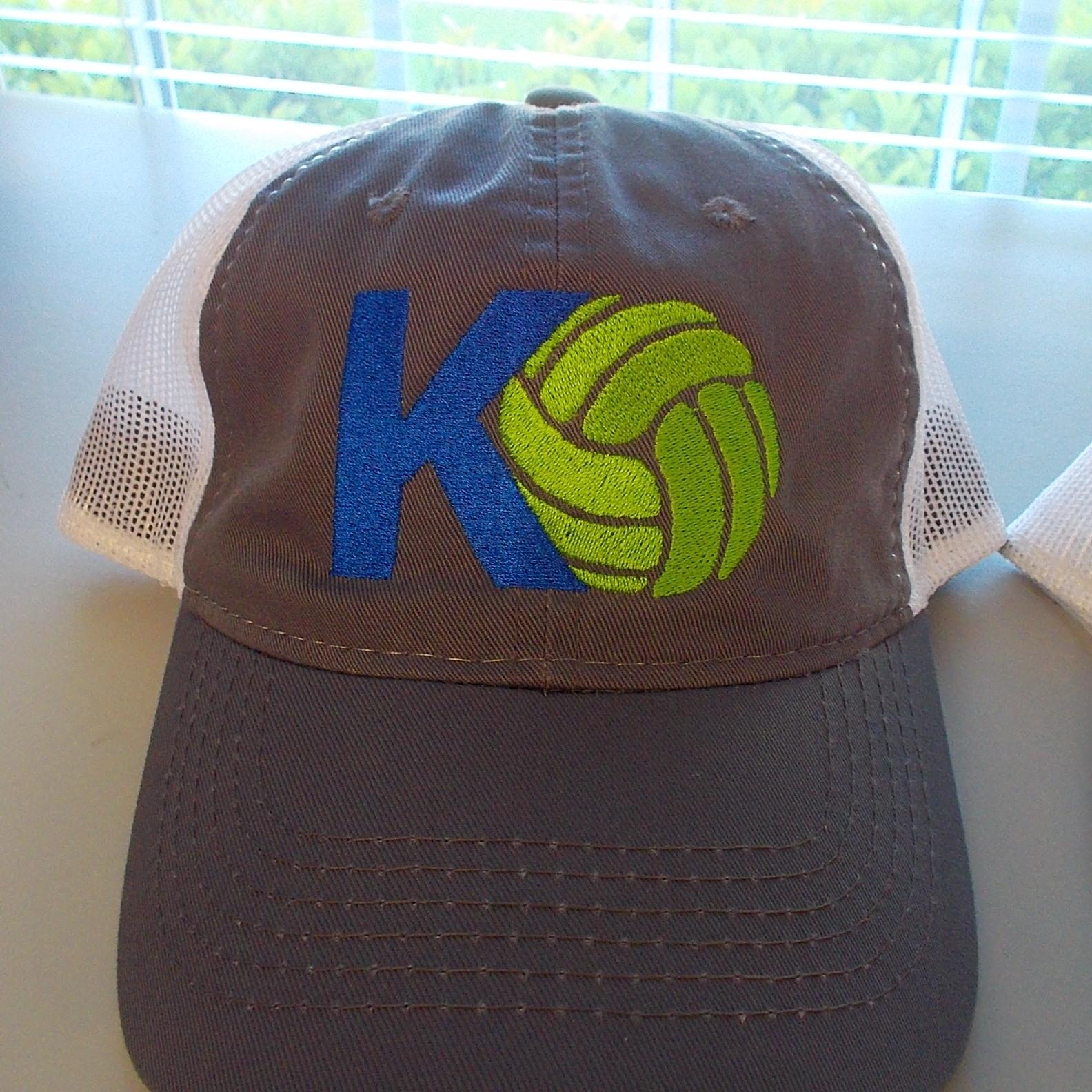 KO Hat - Premium, Low profile mesh back hat.Grey and white - $20