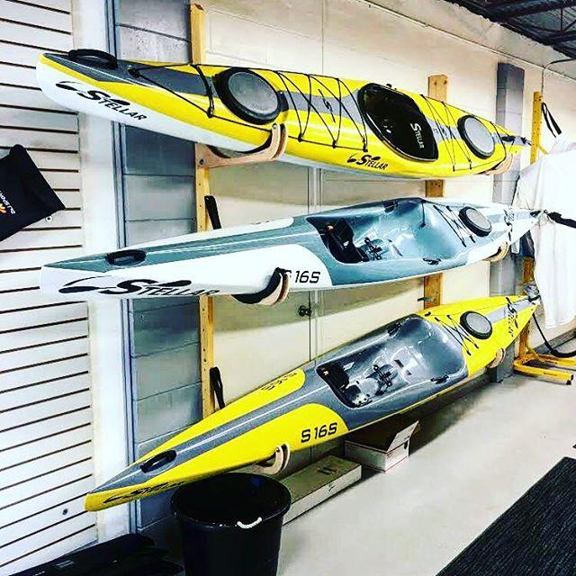 Our Stellar Surf skis! • • • #surfski #kayak #centralflorida #water #sport #paddleboarding #stellar #orlando #stellar