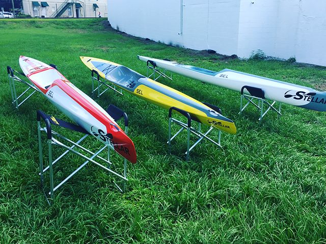 Many Stellar Surf Ski's for Summer ready to demo. Come join us for demos on Wed, Fri & Saturday's. We'll just add water!  The Paddle Attic  321-432-8800 • • • #SouthFloridaSurfSkiClub #FloridaCompetitionPaddlersAssociation #FloridaSurfski #JupiterSurfski #kayak #surfski #water #sport #outdoors