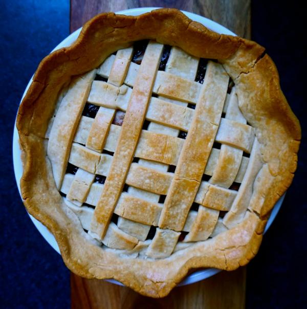 How to make gluten free vegan cherry pie