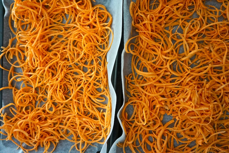 Sweet Potato Noodles | Savoury Meals | Sproutly Stories