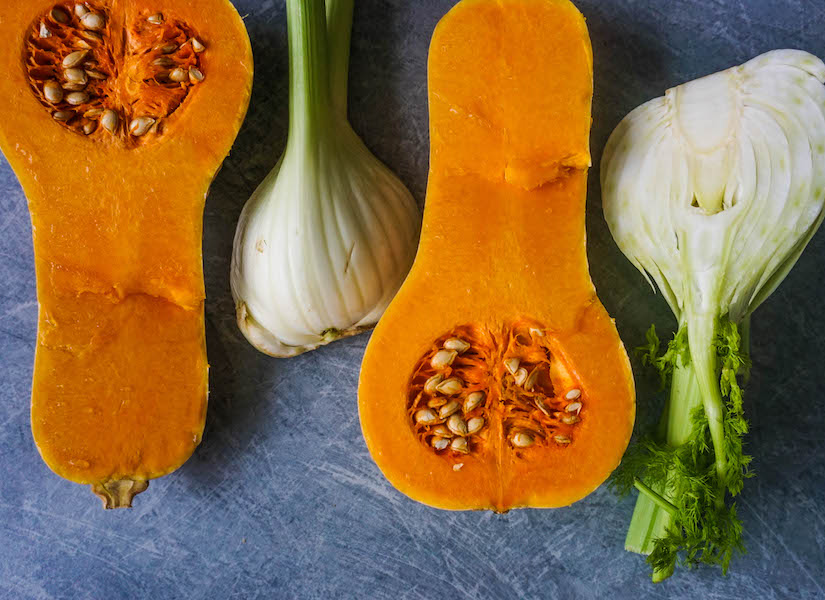 Roasted Fennel and Butternut Squash Soup Ingredients | Savoury Recipes | Sproutly Stories