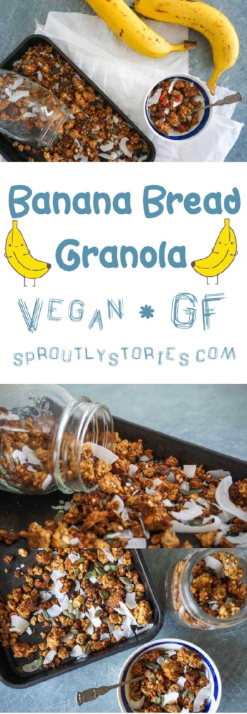 Banana Bread Granola | Sproutly Stories