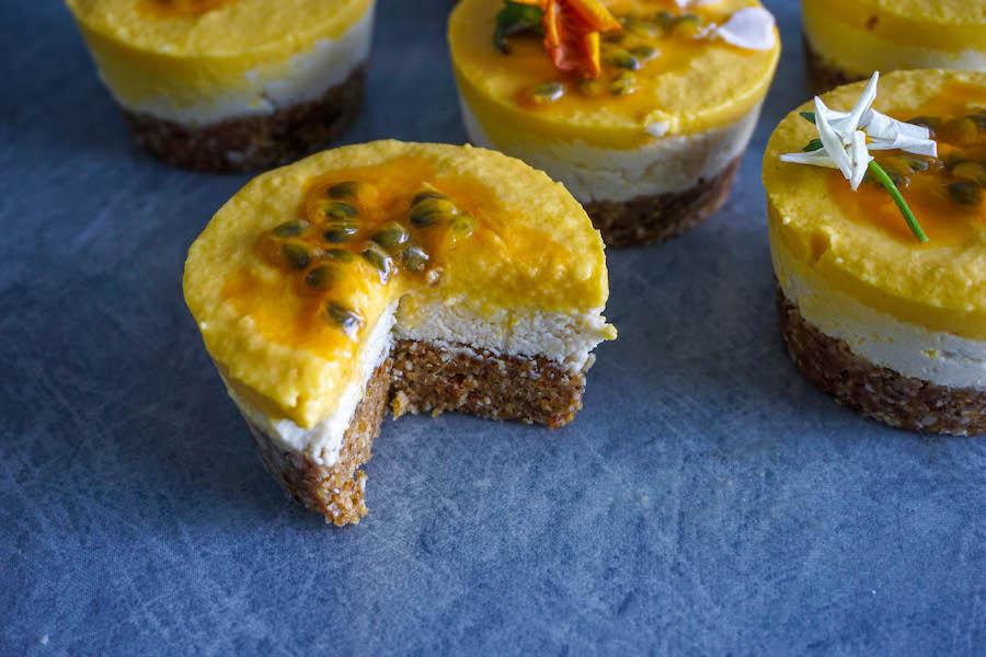 Raw Mango Macadamia Cheesecakes | Sweet Treats | Sproutly Stories