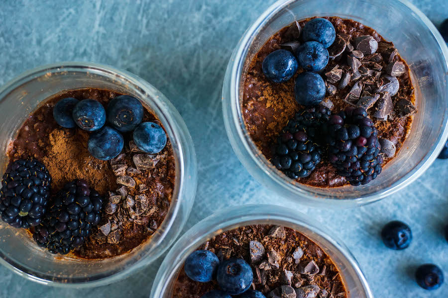 Chocolate Coconut Chia Pudding   Sweet Treats   Sproutly Stories