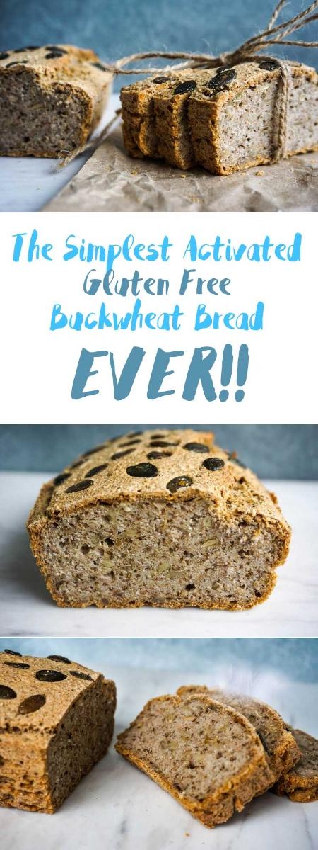 How To Make Buckwheat Bread | Yeast-free, Gluten free