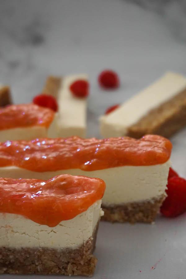 "Rhubarb Lemon ""Cheese""cake | Sweet Treats | Sproutly Stories"