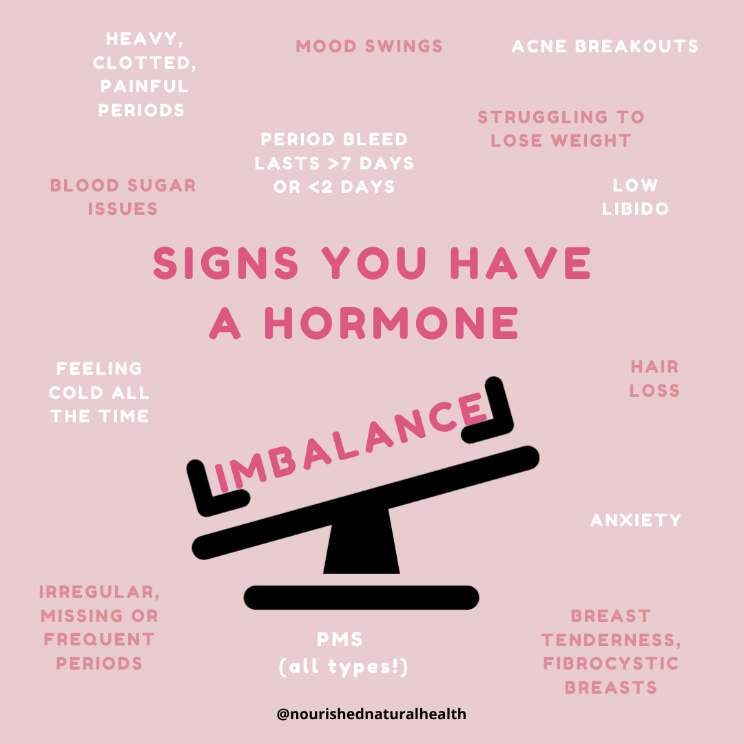 how to regulate hormones with diet bleeding