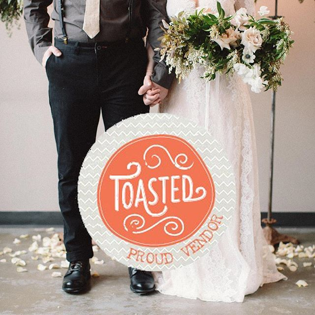 Friends! We are thrilled to tell you that we'll be in Brooklyn NY attending Toasted (NYC's largest indie wedding expo) on April 10th! If you'll be there, make sure you find our table and say hi!!! More info on Toasted at: www.toastedweddingevent.com