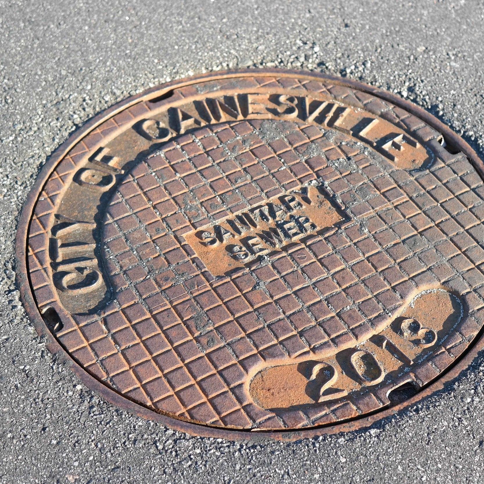 Utilities Sewer Manhole