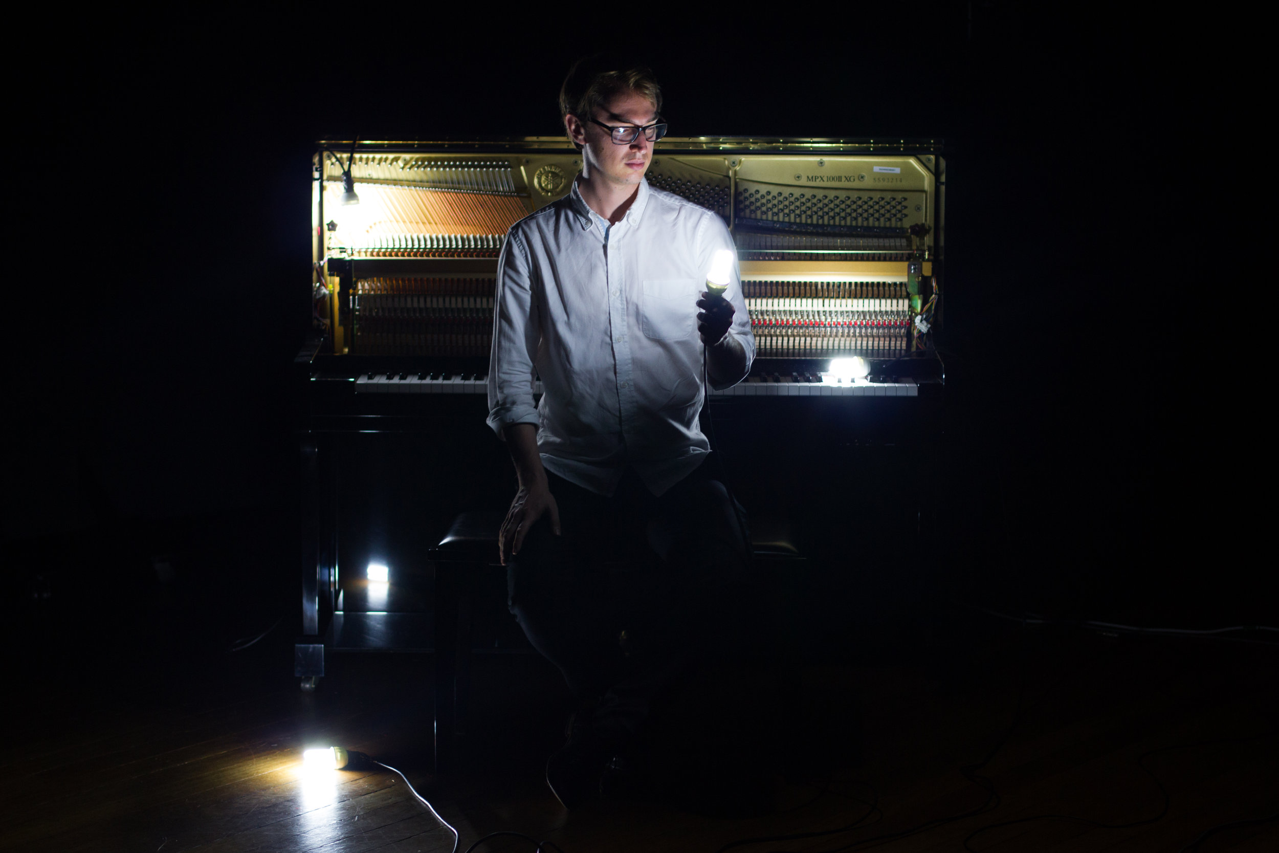 Samuel Mitchell // piano + tenor