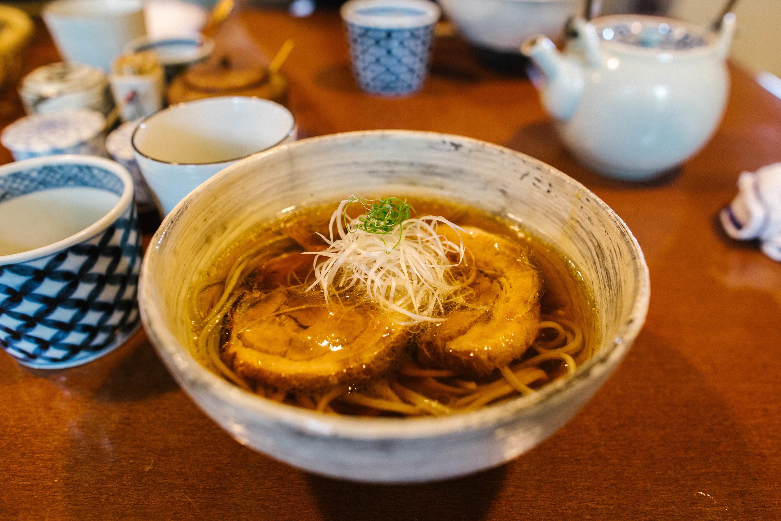 Soba at Fusho-an