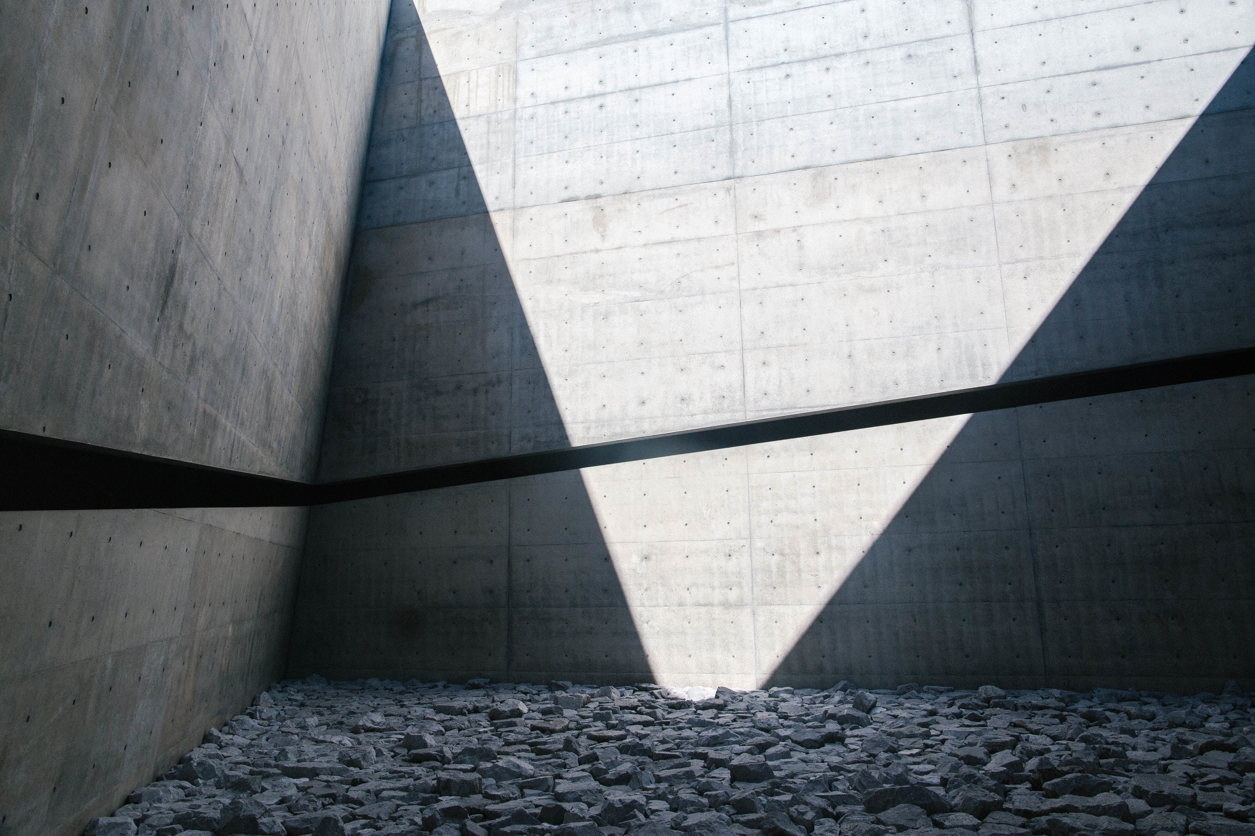 Tadao Ando's utilization of light