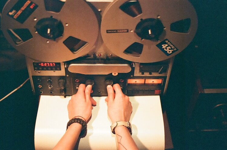 Marta's Revox PR99 tape machine