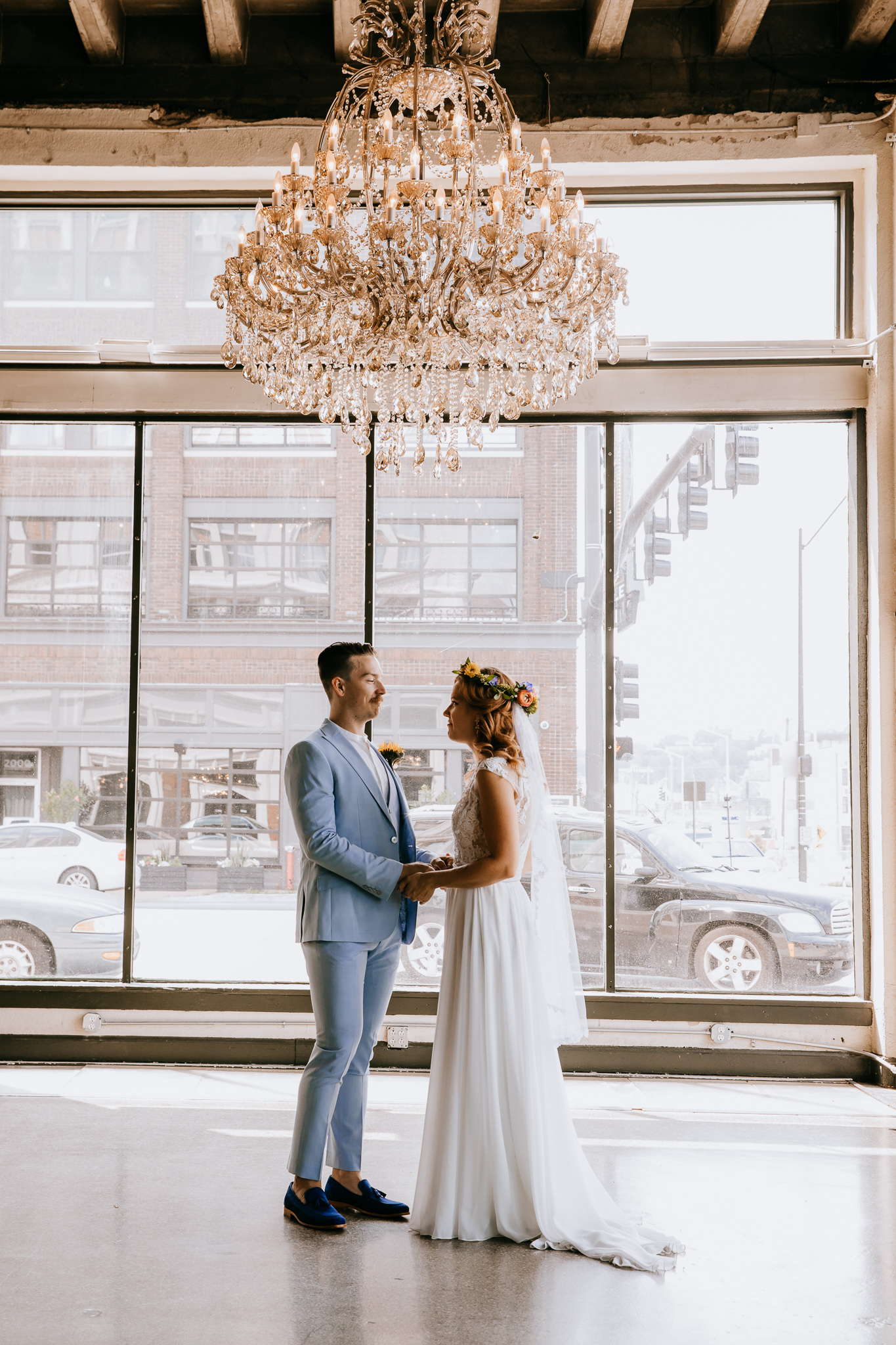 Kansas City Wedding Photography at the Historic Firestone Building by Merry Ohler