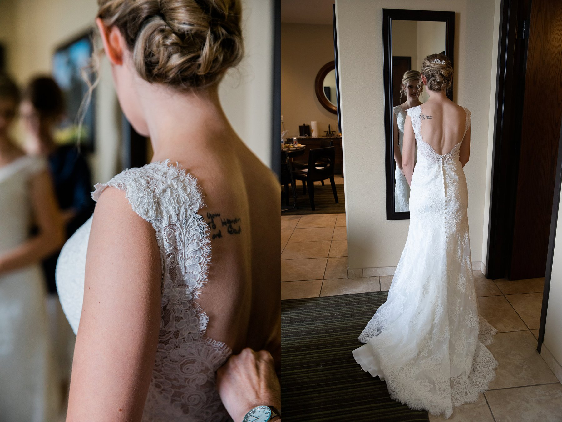 Lawrence Rooftop Wedding at The Oread by Merry Ohler