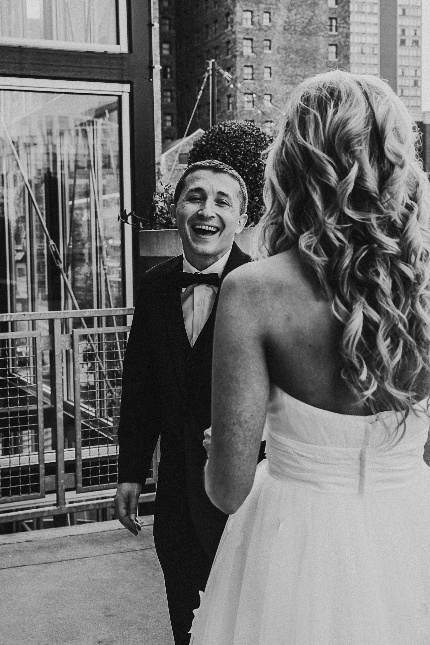 The First Look by Merry Ohler | Wedding Photographer in Kansas City