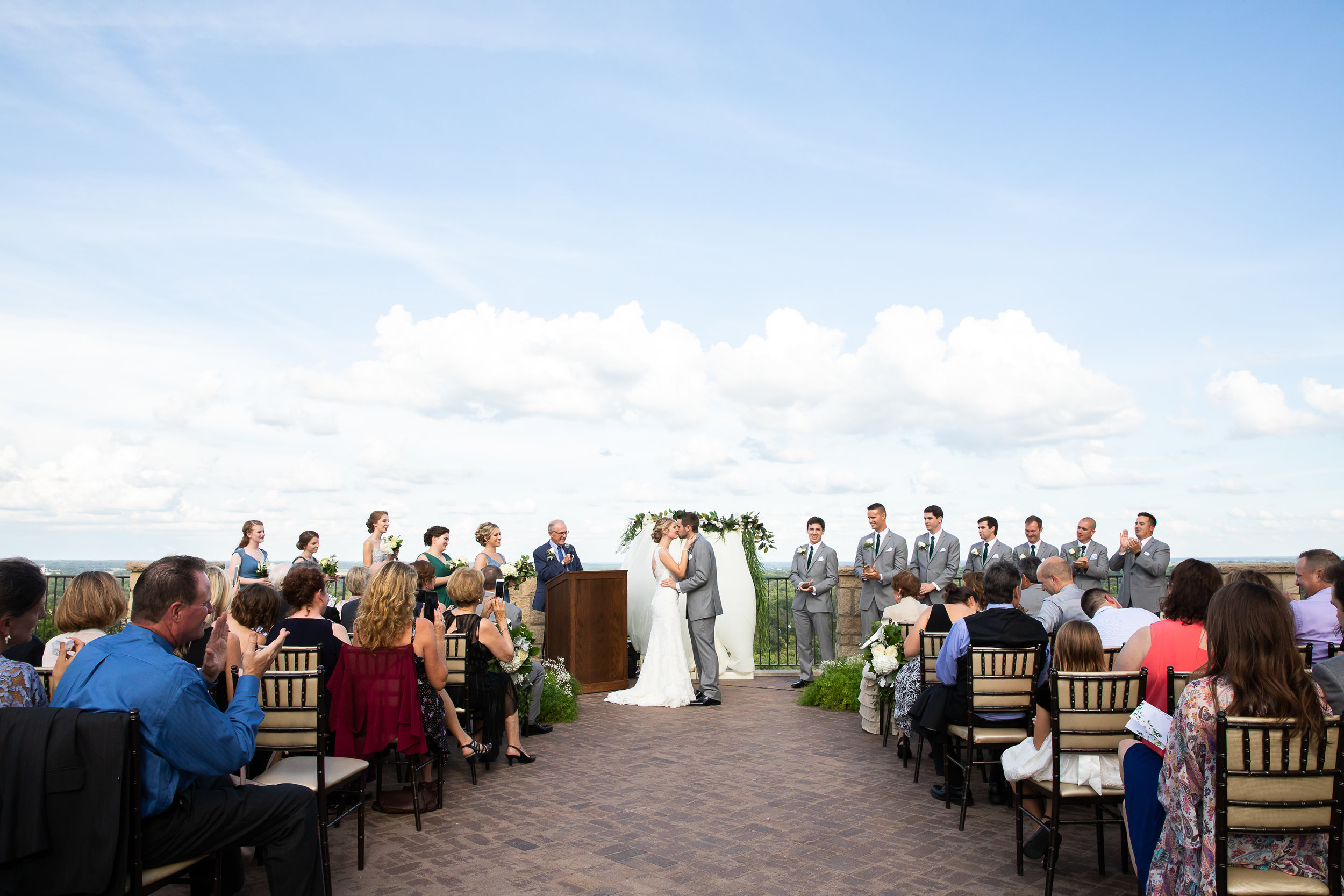 Kansas City Wedding Photography at the Oread in Lawrence by Merry Ohler