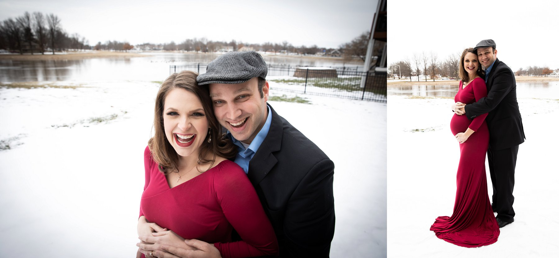 Winter Maternity Photography in Kansas City by Merry Ohler, Wedding Photographer Kansas City - 6