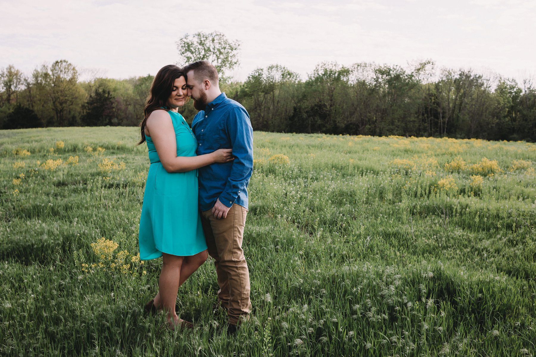 Spring Engagement Photography in Kansas City by Merry Ohler 7