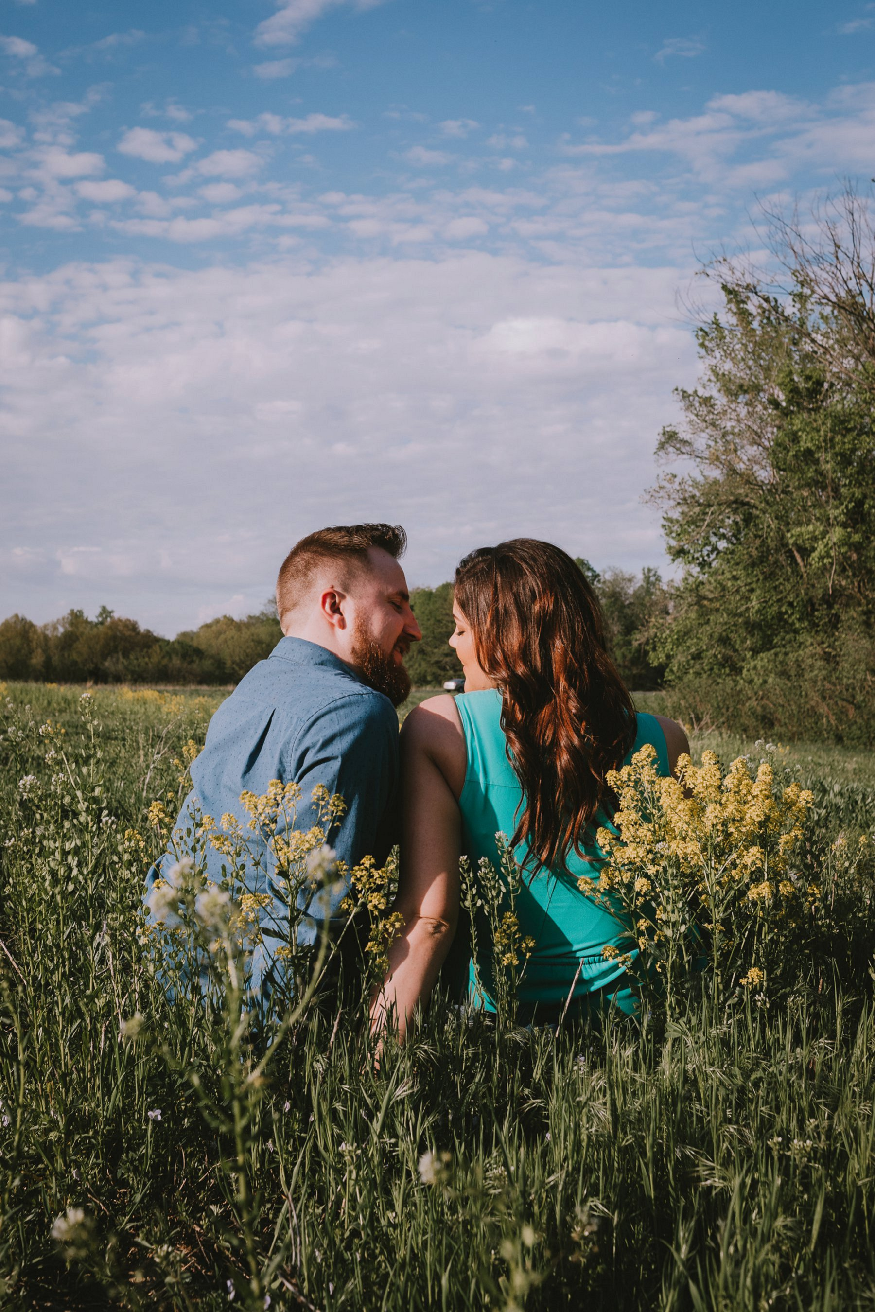 Spring Engagement Photography in Kansas City by Merry Ohler 6
