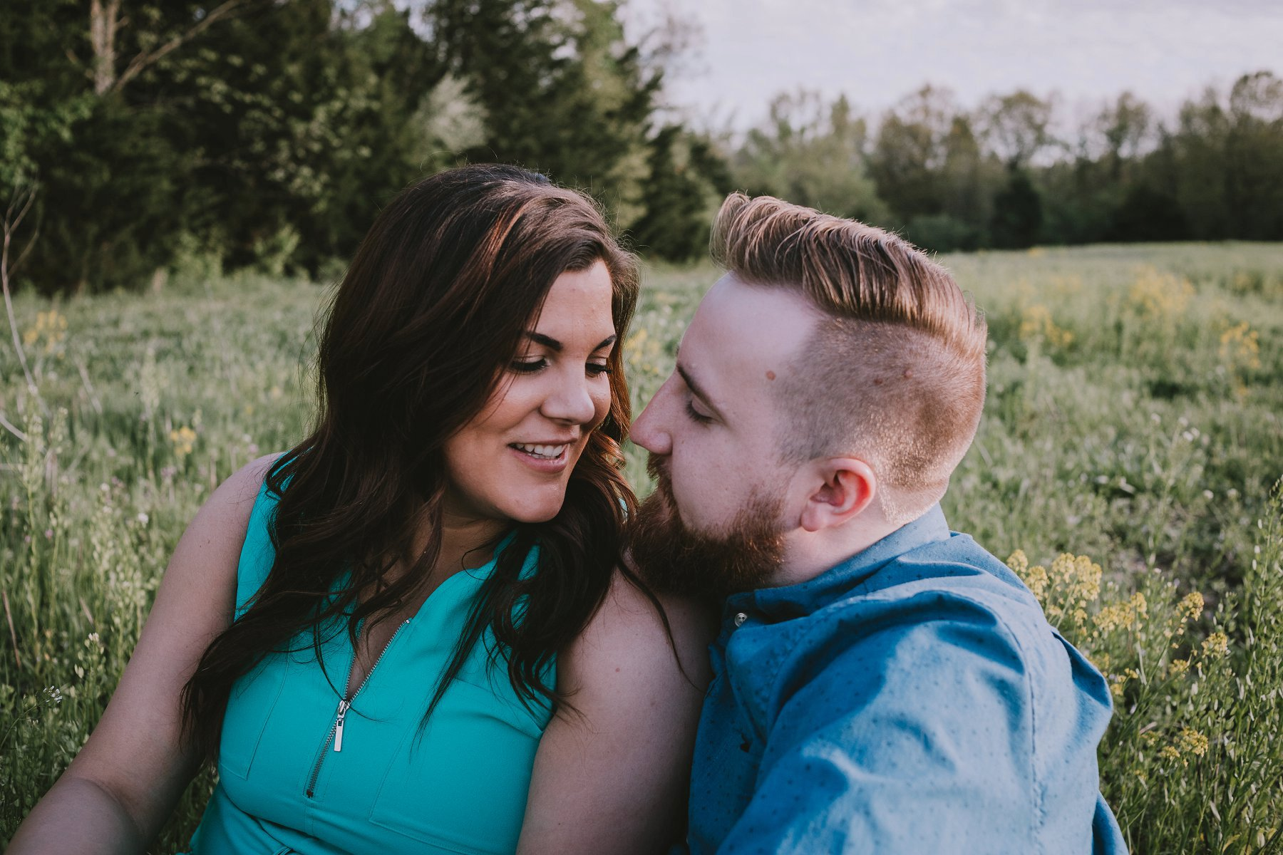 Spring Engagement Photography in Kansas City by Merry Ohler 9