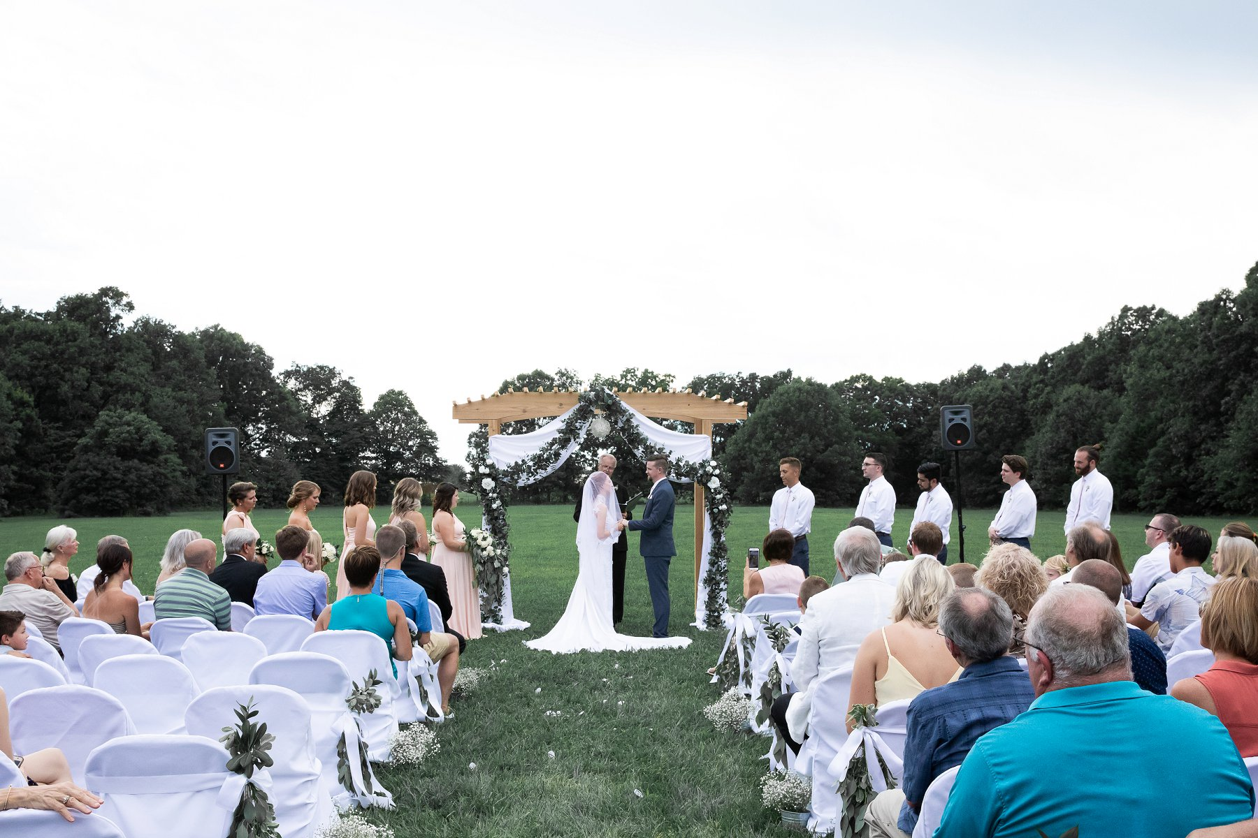 Outdoor Summer Wedding Photography in Kansas City by Merry Ohler, wedding photographer kansas city - 30