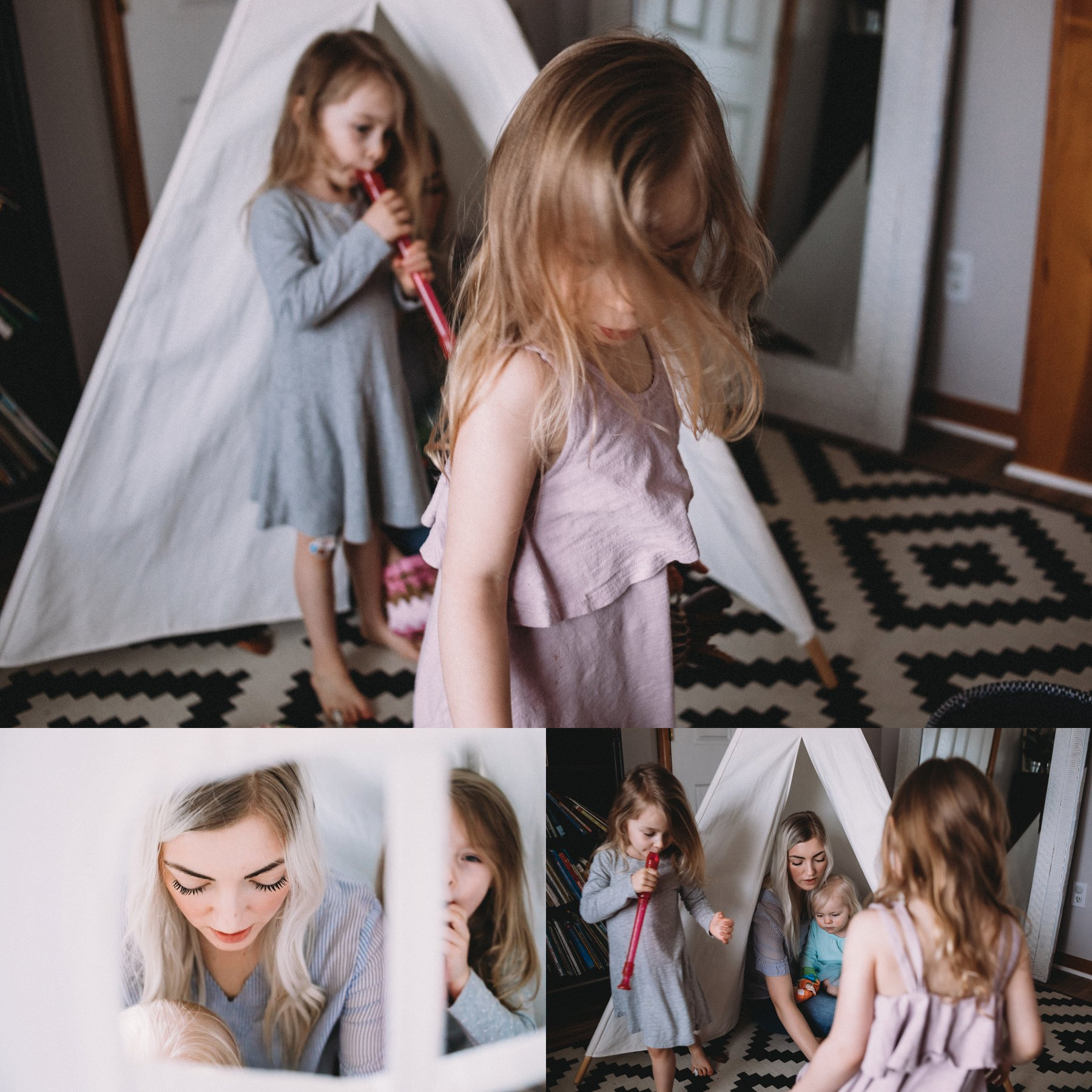 Documentary Lifestyle Motherhood Photography in Kansas City by Merry Ohler | Family Photographer Kansas City 1