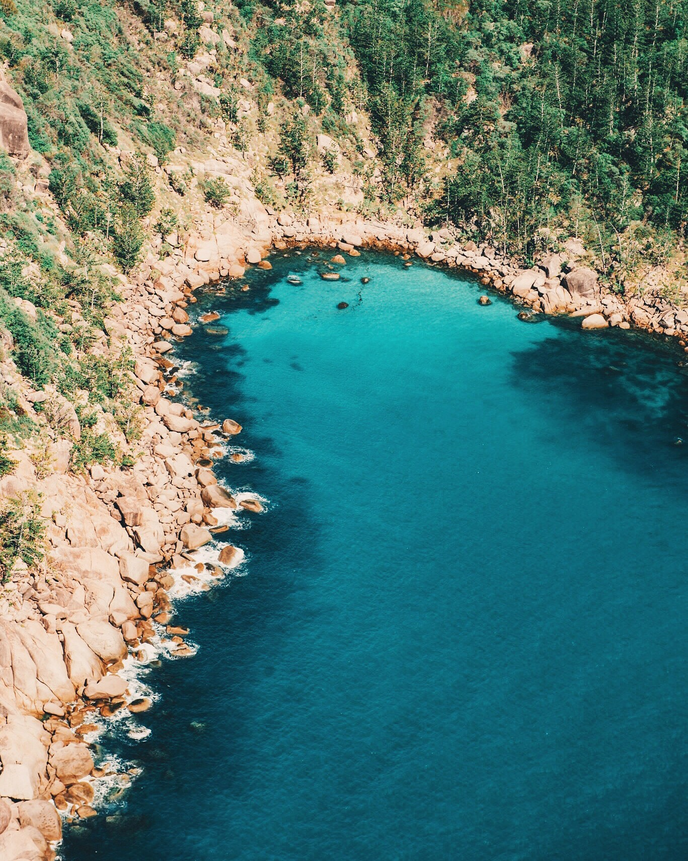 Rugged coastline of Magnetic Island
