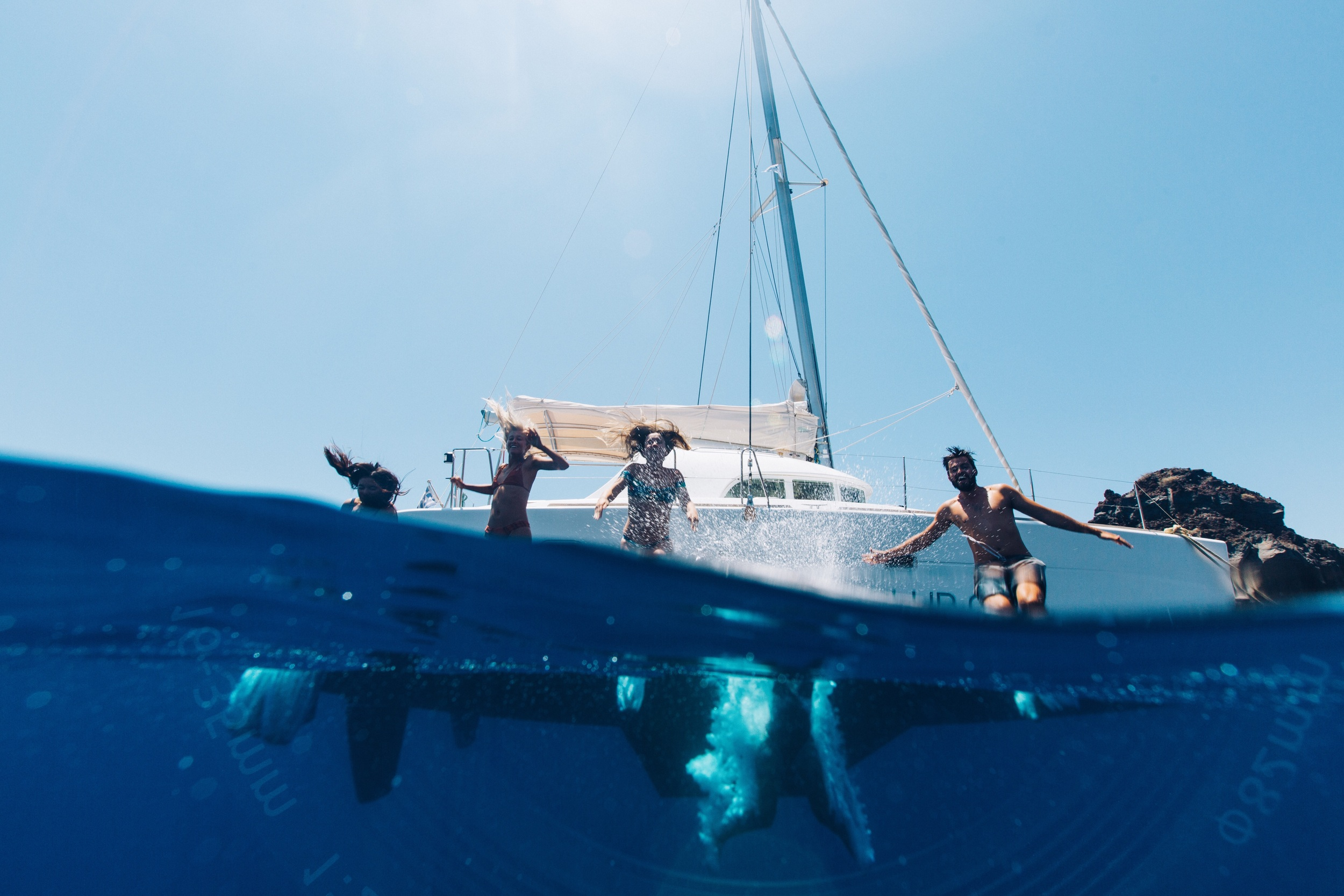 Part 2: Sailing around Santorini