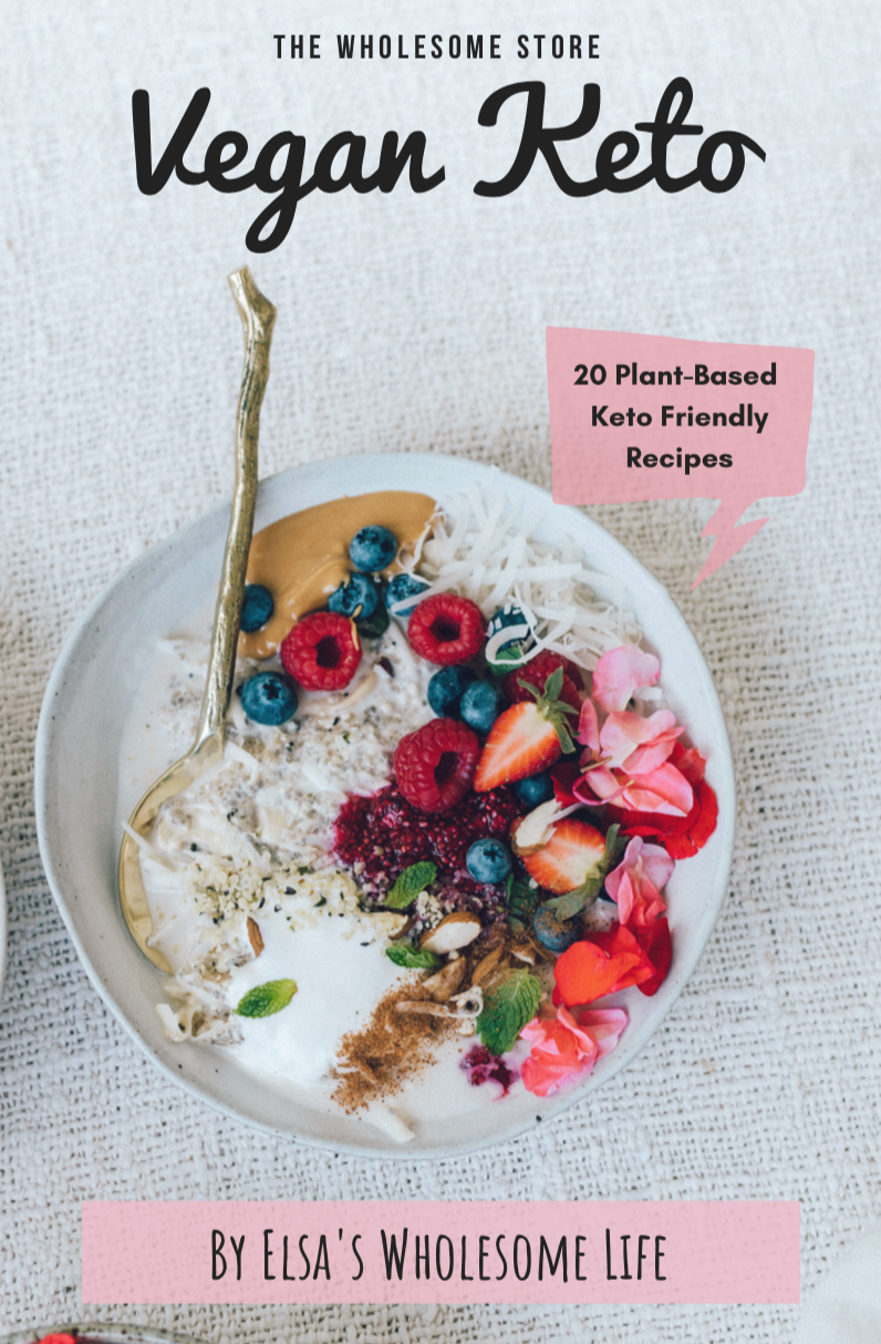 click here for eBook - didn't realise how many of you were stuck for vegan keto meal ideas so I put this mini book together!