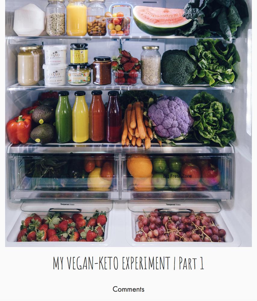 Part 1 - my vegan-keto experiment