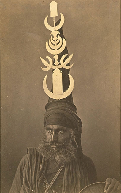 Nihang, the warriors/protectors of the Sikh community