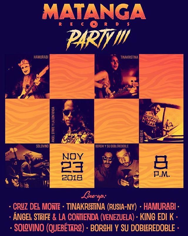 Tomorrow!! Mi Birthday performance is happening at Foro Indie Rocks!! 🔥⚡️✨🌈 🙏❤️Mexico City  #Repost @edi_kistler with @get_repost ・・・ Ya viene la estampida. Viernes 23 Nov. 8pm. @foroindierocks Ya tienes tus boletos? $120 en @boletia Gracias a @hpmexico
